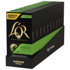Кофе L'OR Lungo Elegante, 100 капсул Nespresso