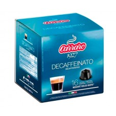 Кофе в капсулах Carraro Decaffeinato, 16 капсул Dolce Gusto