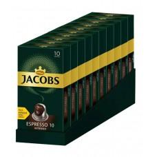 Кофе Jacobs Espresso 10 Intenso, 100 капсул Nespresso