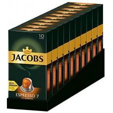 Кофе в капсулах Jacobs Espresso 7 Classic, 10 капсул Nespresso