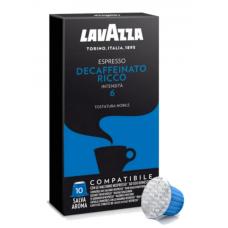 Кофе в капсулах Lavazza Decaffeinato Ricco, 10 капсул Nespresso